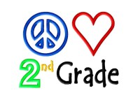 Peace Heart 2nd Grade