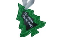 Reusable Christmas Tree Gift Tag
