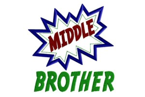 Middle Brother Action Bubble
