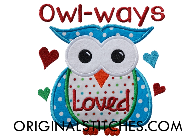 owl ways loved machine embroidery and applique designs. Black Bedroom Furniture Sets. Home Design Ideas
