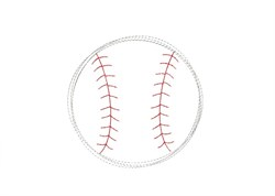 Baseball - Quick Stitch