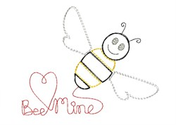 Bee Mine - Quick Stitch