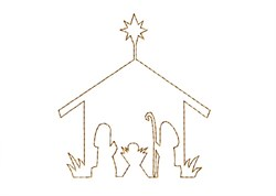 Nativity - Quick Stitch