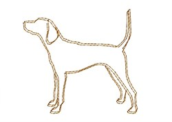 Coonhound - Quick Stitch