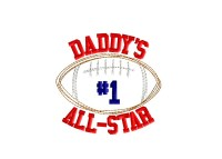 Daddy's #1 ALL-STAR