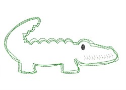 Gator - Quick Stitch