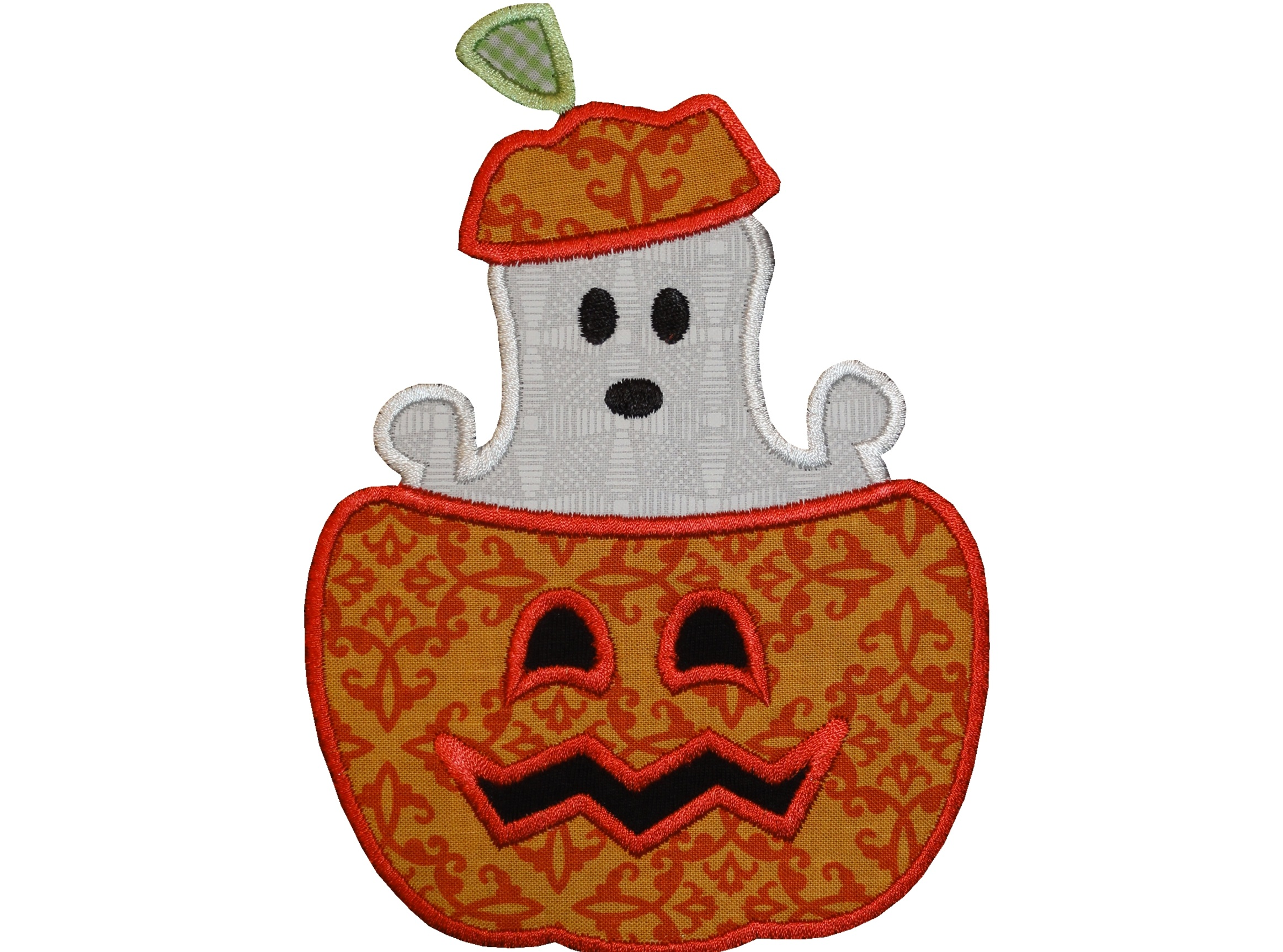 Ghost in Pumpkin