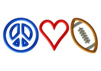 Peace Heart Football