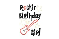 Rockin Birthday Girl