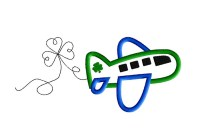 Shamrock Airplane