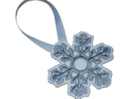 Snowflake Ornament ITH