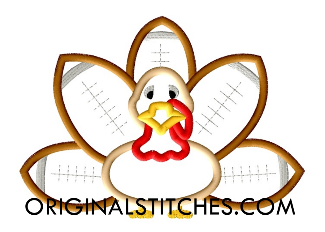 football turkey 2 machine embroidery and applique designs. Black Bedroom Furniture Sets. Home Design Ideas